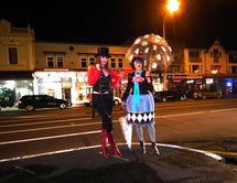 The Arts Menageri after dark in Ponsonby